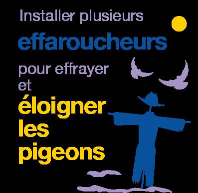 effaroucheurs pour pigeons