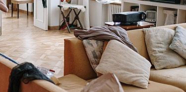 Rangement des pièces de la maison pour éviter les punaises de lit