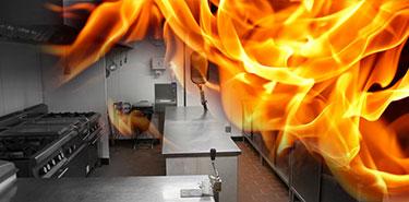 risque d'incendie par manque d'entretien d'une hotte professionnelle de cuisine
